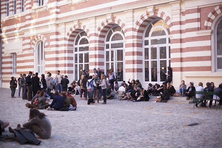 Cour d'honneur de l'isdaT beaux-arts, 2013