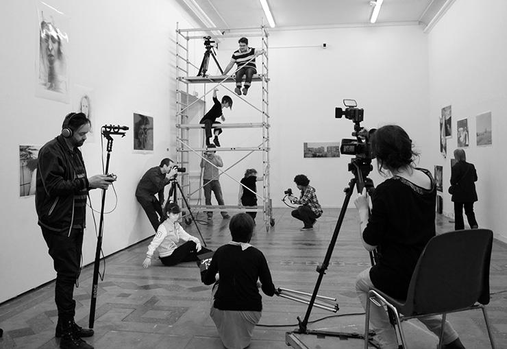 Cours de Françoise Goria : danse et photo, 2012