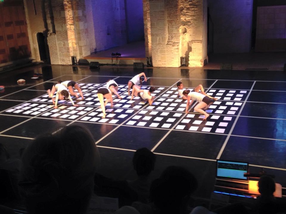 Spectacle de danse à l'auditorium Saint-Pierre des Cuisines