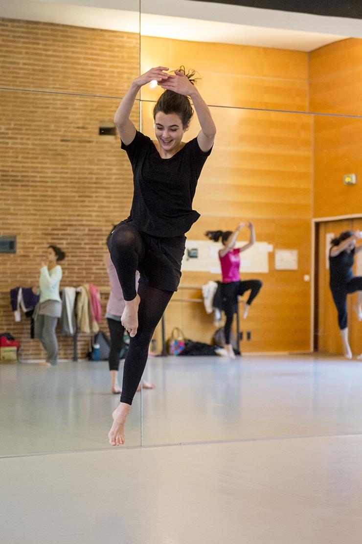 Cours de danse, isdaT, 2015, photo Franck Alix