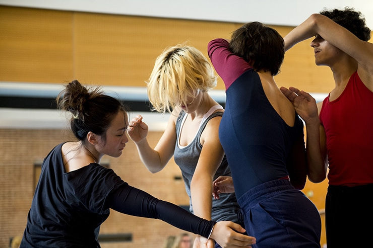 Cours de danse, isdaT, 2015, photo Franck Alix