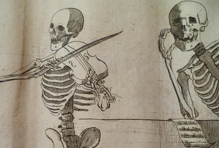 Gamelin, Jacques, <i>Nouveau recueil d'ostéologie et de myologie…</i> A Toulouse : De l'Imprimerie de J. F. Desclassan, 1779. Coll. isdaT.