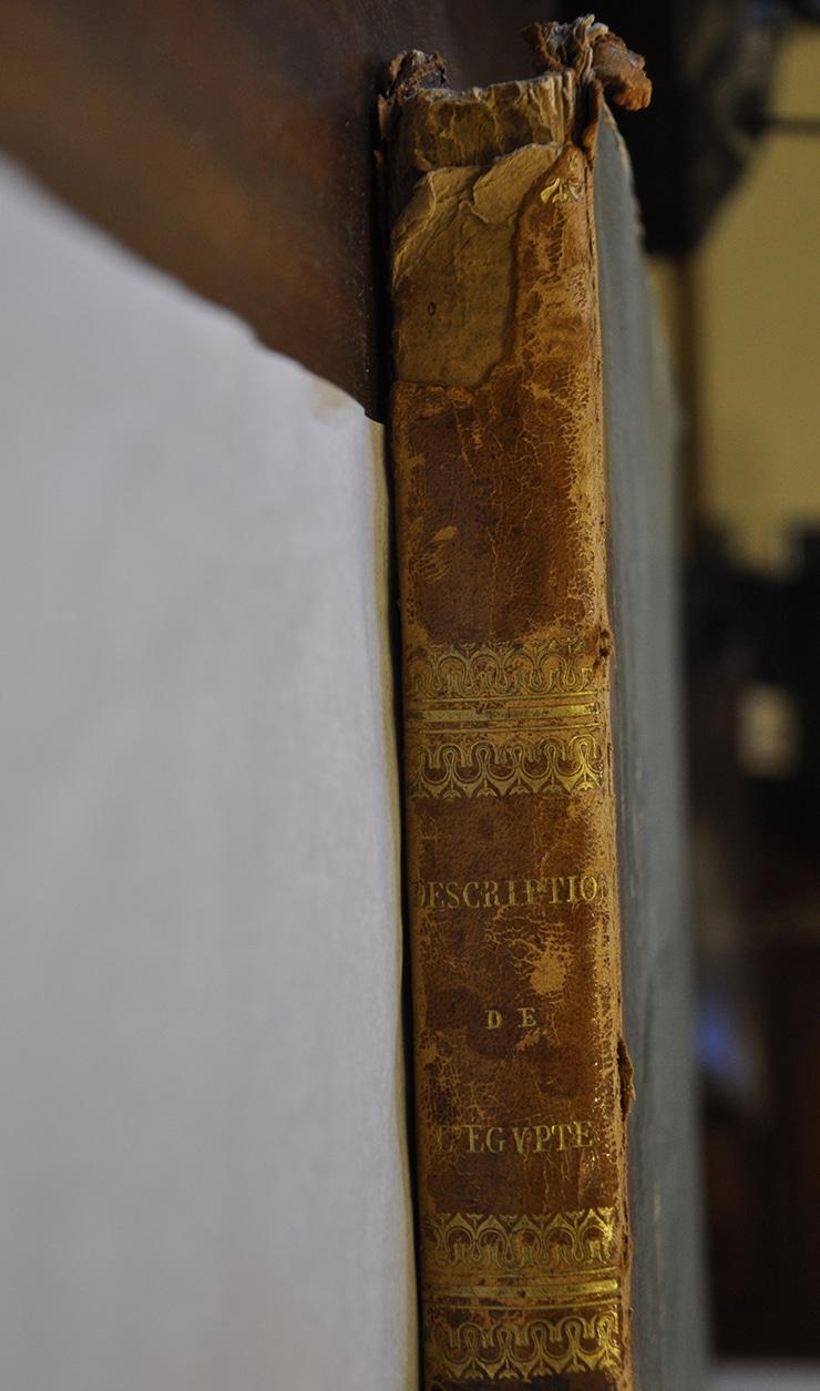 Fonds ancien isdaT : Panckoucke, Description de l'Egypte ou Recueil des observations et des recherches qui ont été faites en Egypte pendant l'expédition de l'armée française, 1820-1830