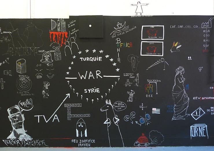 The wall, isdaT, photo Raphaël Larre