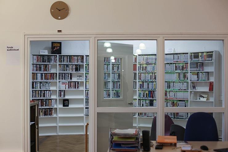 Bibliothèque, fonds audiovisuel, isdaT