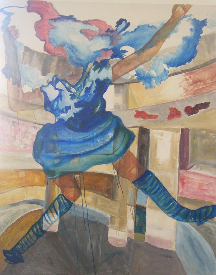 Cours publics, peinture, isdaT, photo Martine Gelis