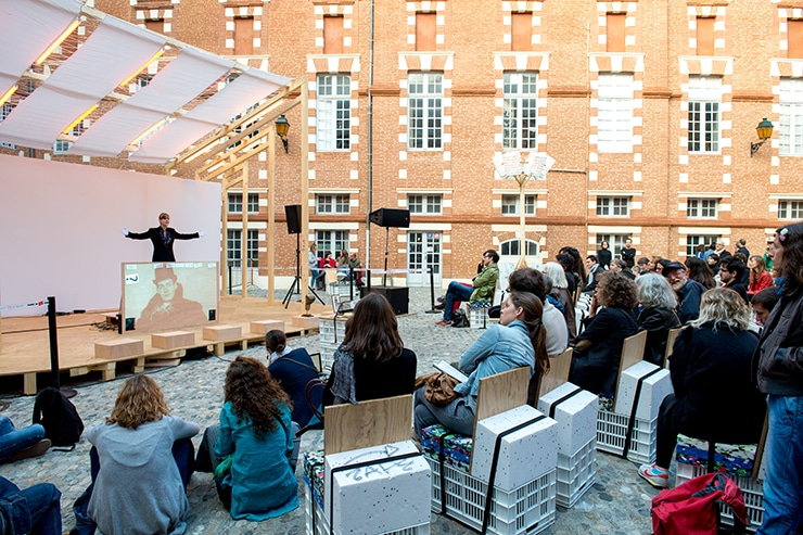 Louise Mariotte, Festival international d'art de Toulouse, isdaT, photo Franck Alix