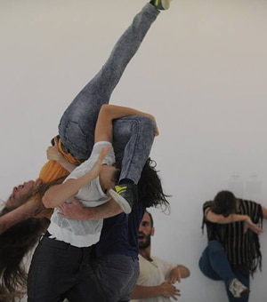 Atelier danse, Yasmeen Godder, isdaT