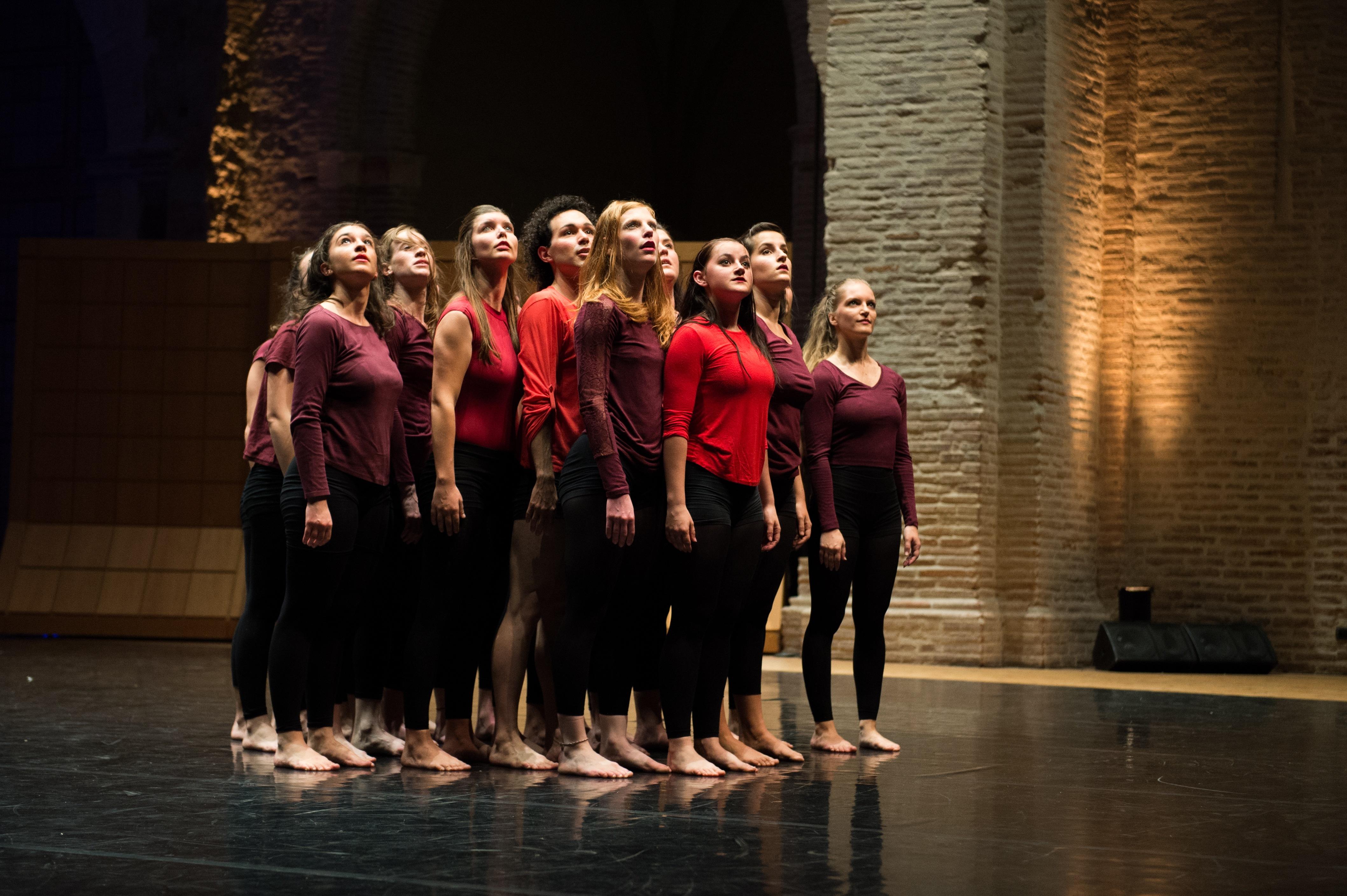 Spectacle de l'unité danse, mai 2017, isdaT