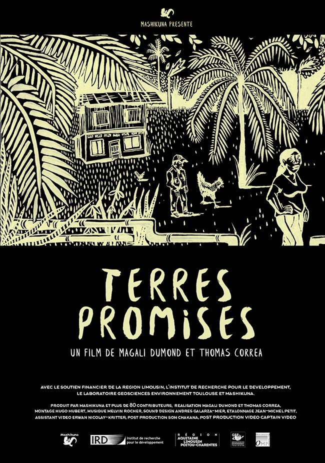 Séminaire État des recherches #1, projection film Terres Promises, Thomas Correa, isdaT