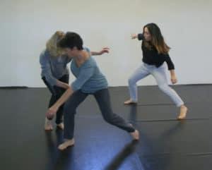 Stage De la psychomotricité à la danse avec Odile Cazes-Laurent , Toulouse, isdaT