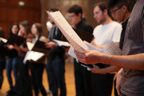 Répétitions d'isdaTus, chœur de l'isdaT, mai 2015