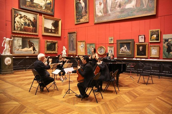 Concert médiation Des mots et des notes, musée des Augustins, isdaT