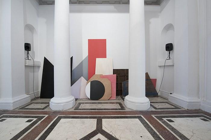 Mur, espace d'exposition, installation de Marie Zawieja, isdaT