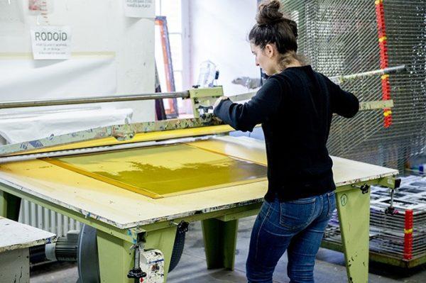 Atelier sérigraphie, isdaT