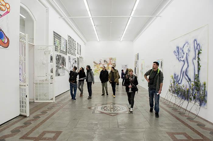 Palais des arts, Journées Portes Ouvertes, isdaT © Franck Alix
