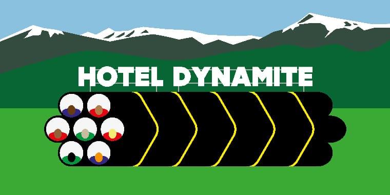 Hôtel Dynamite, David Michael Clarke et les artistes du futur, Chapelle Saint Jacques, isdaT