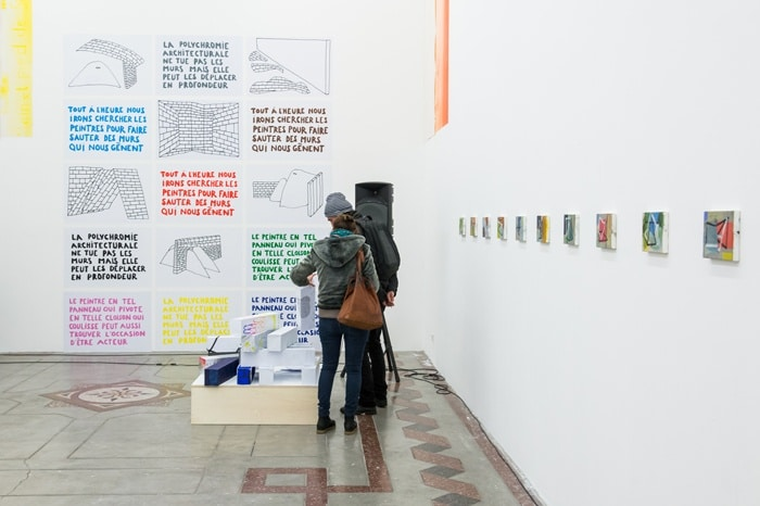 Vernissage de l'exposition Phase II — Imagining Architecture, février 2018, isdaT