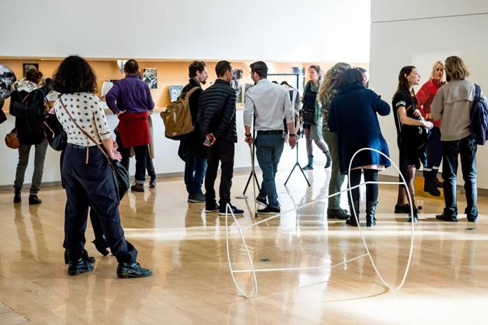 Vernissage des expositions Pièce montée, Médiathèque José Cabanis, toulouse, isdaT © Franck Alix