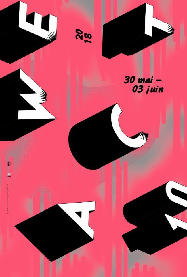 WEACT week-end de l'art contemporain, toulouse, réseau pinkpong, isdaT