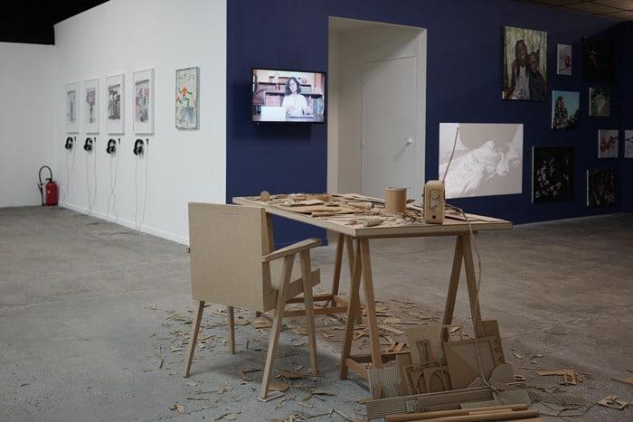Exposition Activité permanente, avril 2018, BBB centre d'art, isdaT Toulouse