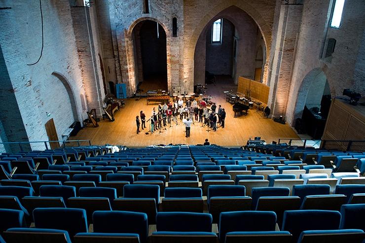 Auditorium Saint-Pierre des Cuisines, isdaT site Saint-Pierre © Franck Alix