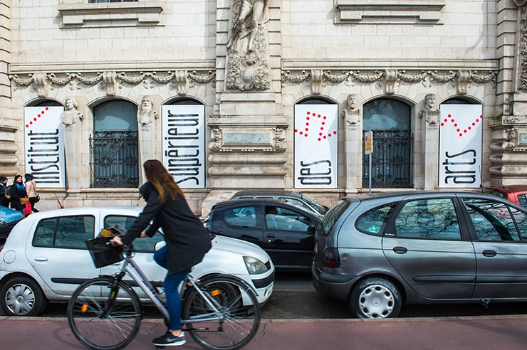 isdaT beaux-arts, façade © Franck Alix