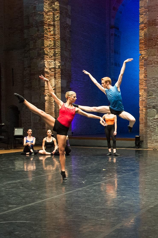 Spectacle de l'unité danse, mai 2017 © Franck Alix, isdaT Toulouse