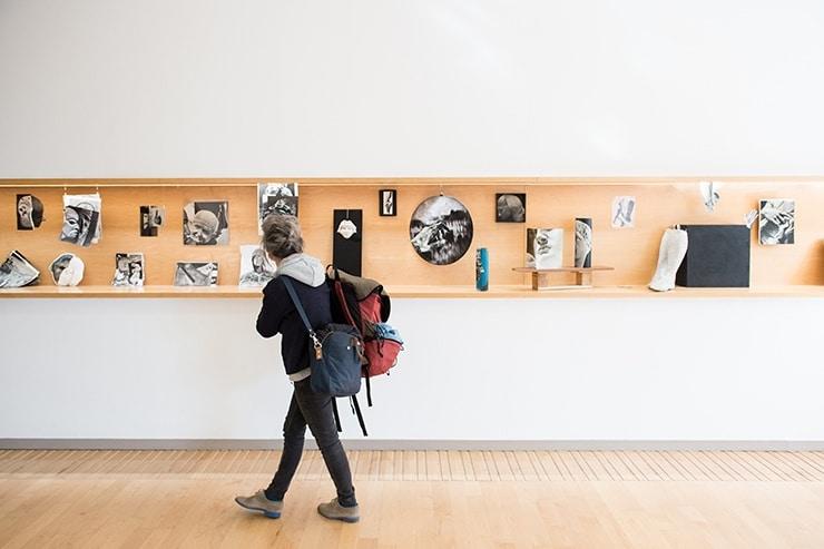 Vernissage de l'exposition Pièce montée, avril 2018 © Franck Alix