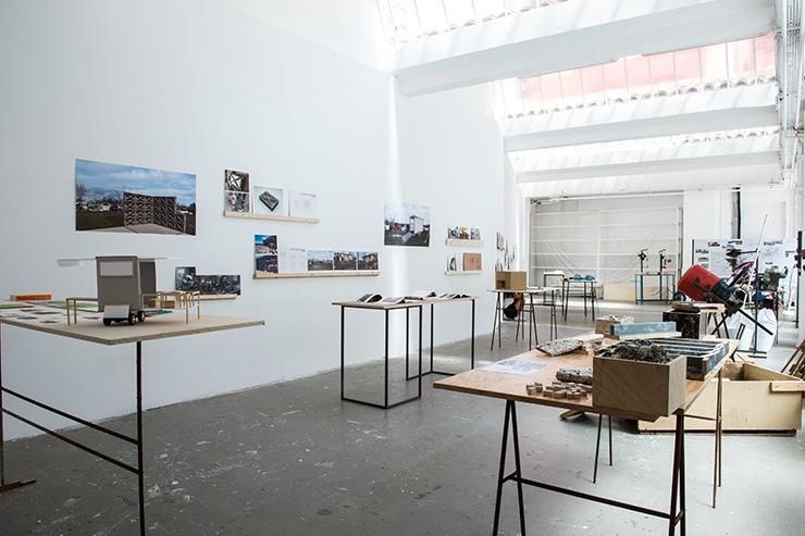 Salle 02, Maude Tremolière et Margaux Zuppel, DNSEP design,  juin 2017 © Franck Alix