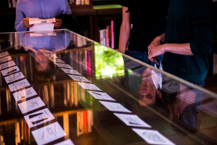 Exposition LabBooks à la médiathèque des Abattoirs © Franck Alix, juin 2018