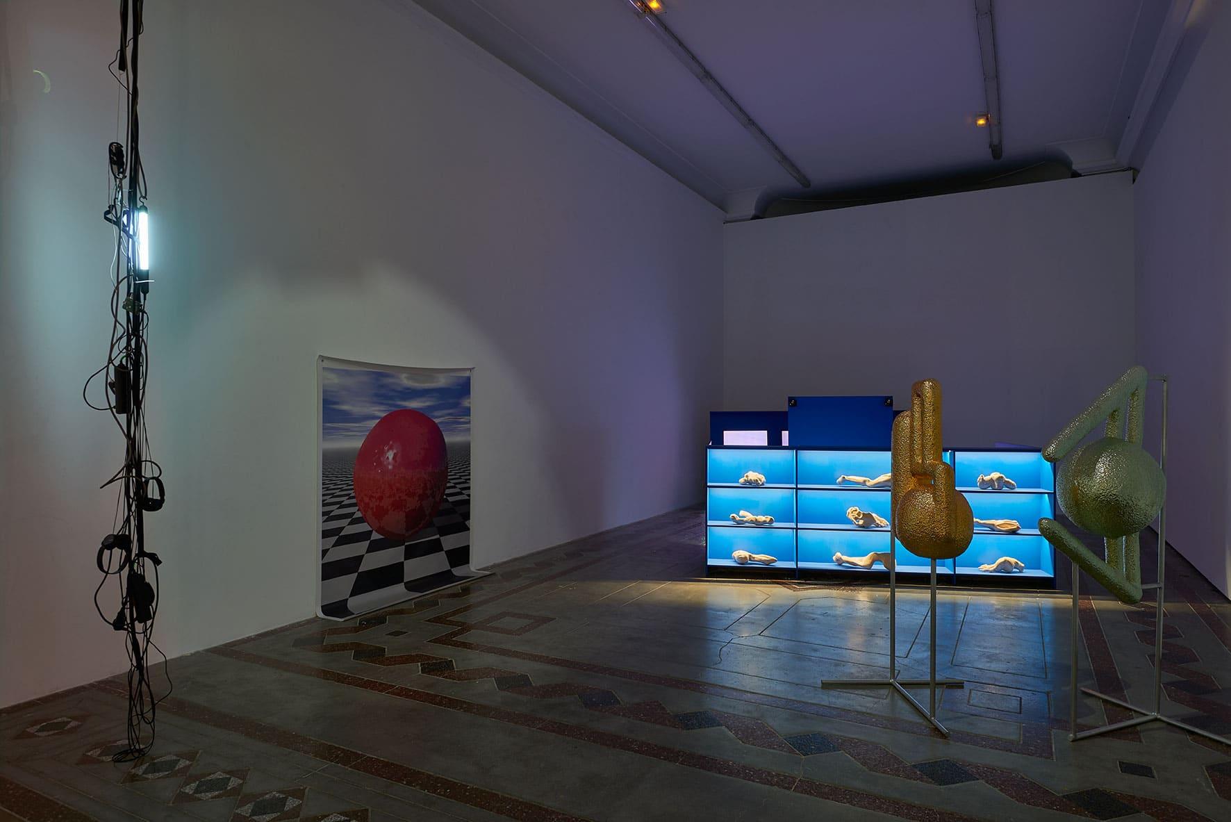 Exposition <i>France Électronique</i> au Palais des arts de l'isdaT beaux-arts, le Printemps de septembre 2018 © Damien Aspe