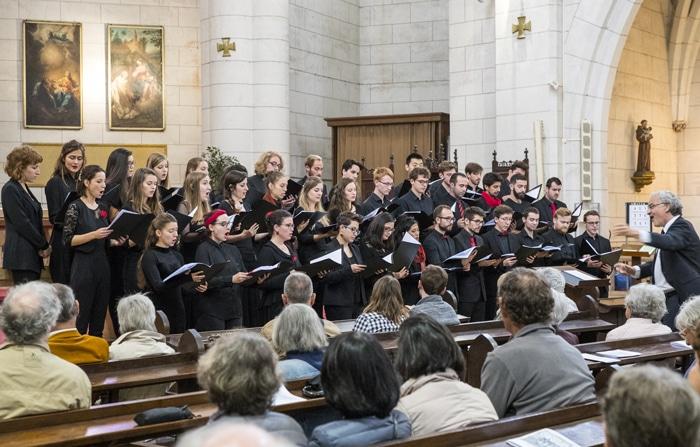 isdaTus, chœur de l'isdaT, au festival Toulouse les Orgues © Alexandre Ollier, octobre 2018