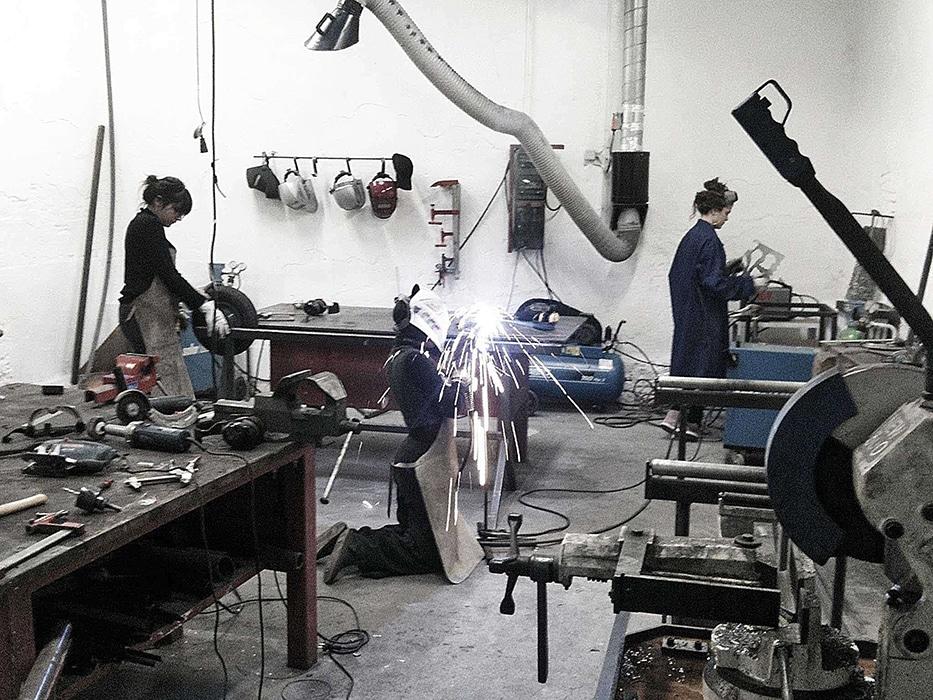 Atelier Métal, isdaT (matérialité) Crédit photo © Giacomo Gannini