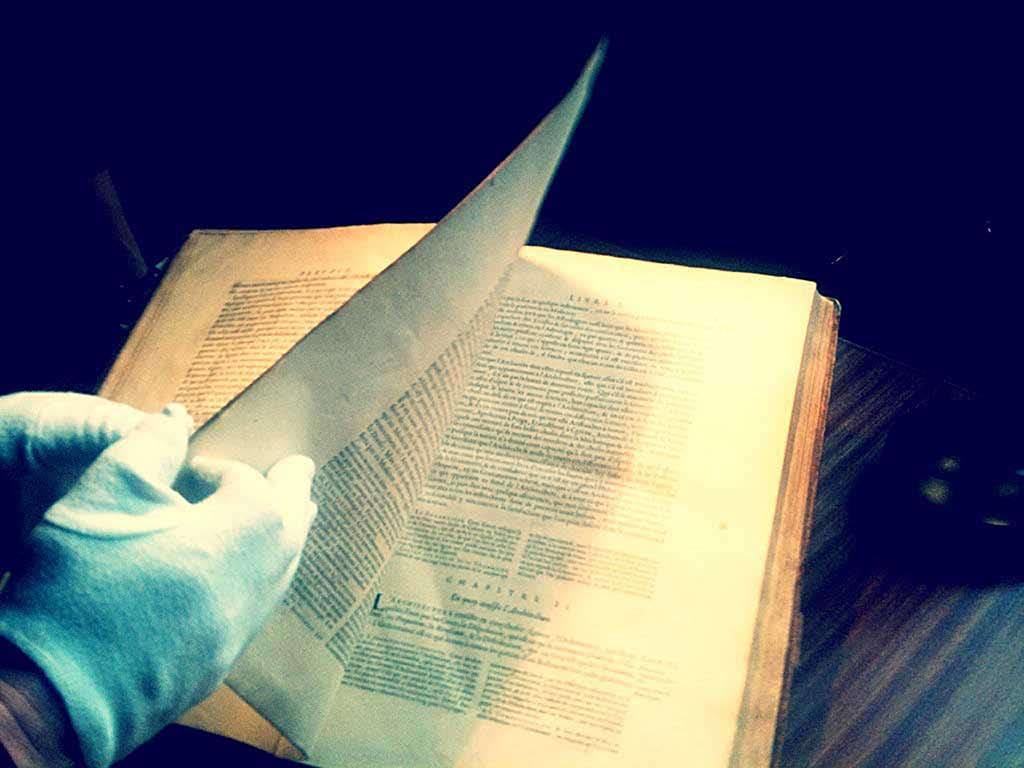 Encyclopédie Diderot D'Alembert, Fonds ancien isdaT Crédit photo © Giacomo Gannini