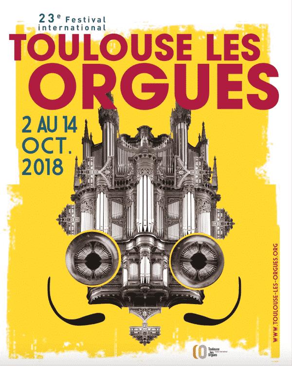 Festival Toulouse les orgues 2018, concert isdaT