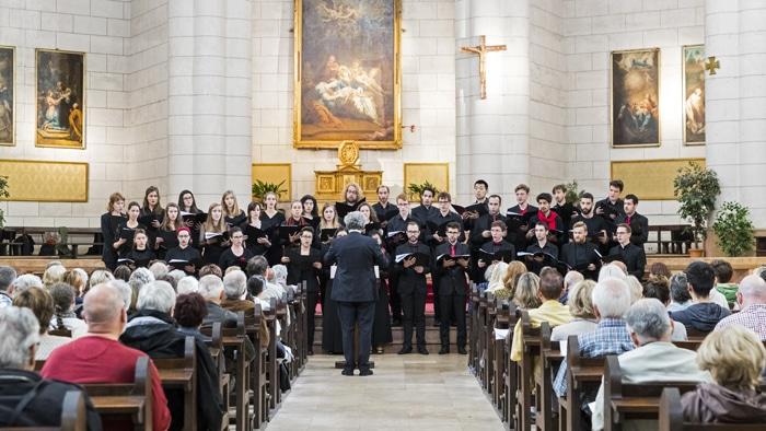 isdaTus, chœur de l'isdaT, au festival Toulouse les Orgues © Alexandre Ollier