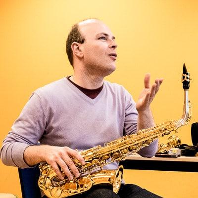 Masterclass saxophone avec Vincent David, isdaT Toulouse