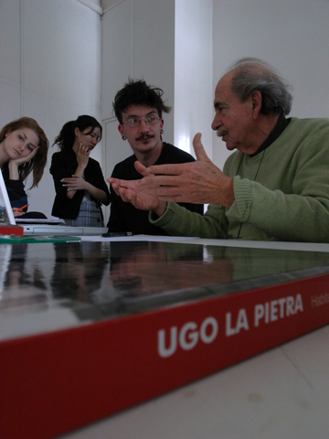 Workshop avec Ugo la Pietra, isdaT Toulouse