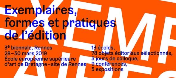 """Résultat de recherche d'images pour """"biennale exemplaires 2019"""""""