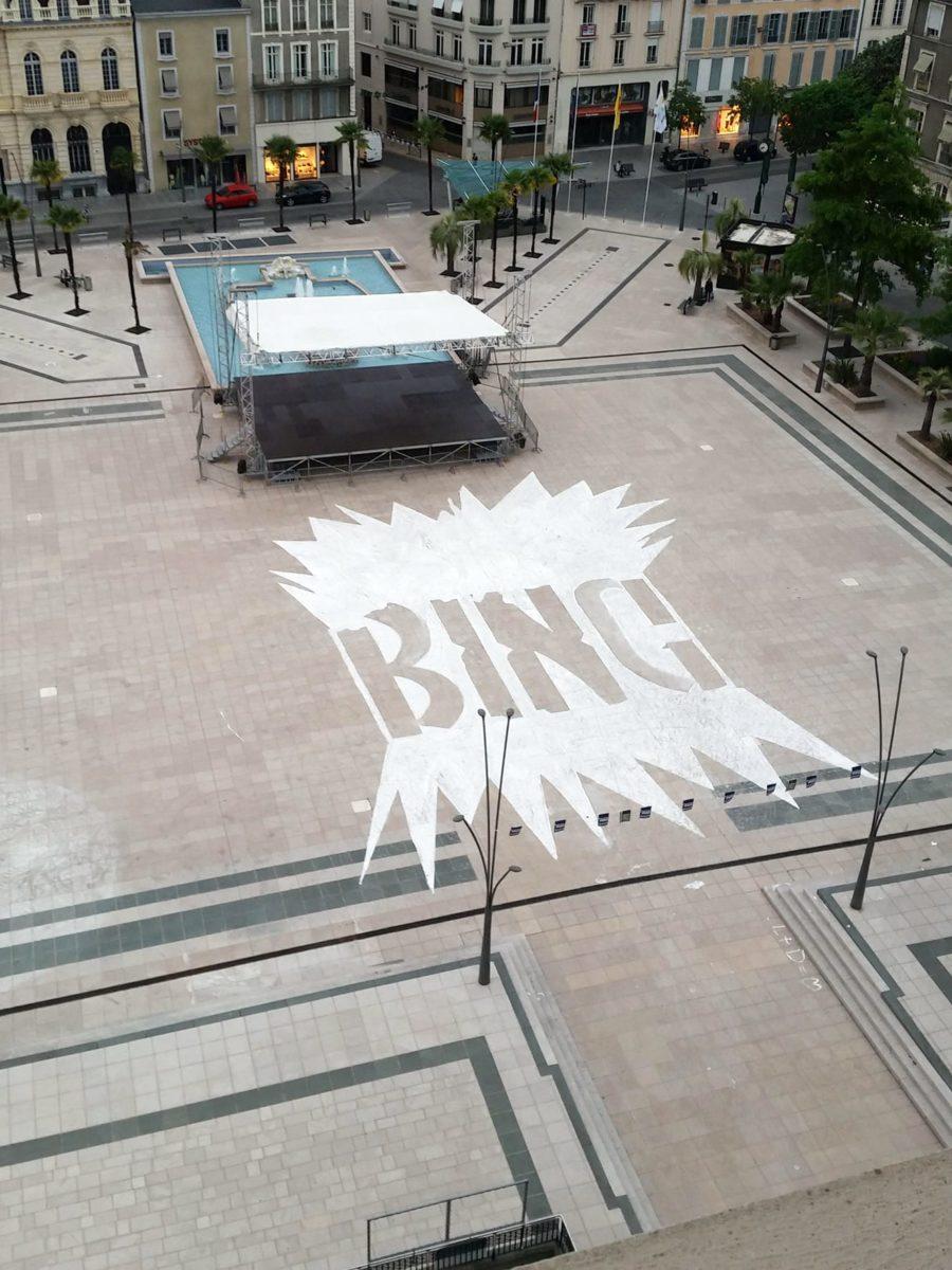 Workshop Écritures+Illustrations éphémères dans l'espace public avec BonneFritte, isdaT Toulouse