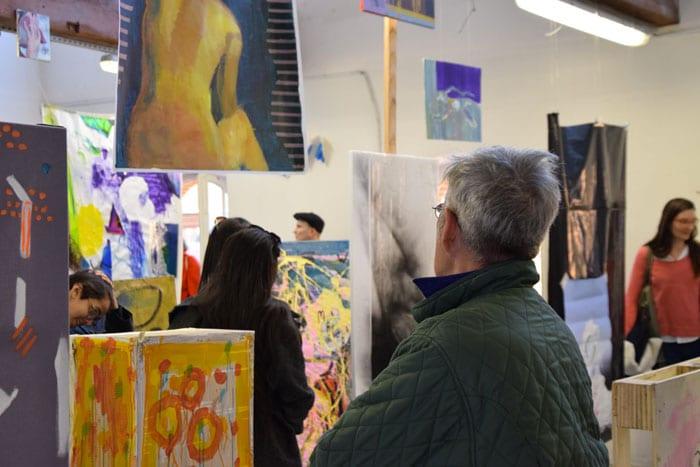 Look Mom No Head!, workshop peinture avec Arthur Stokvis & Laurent Proux