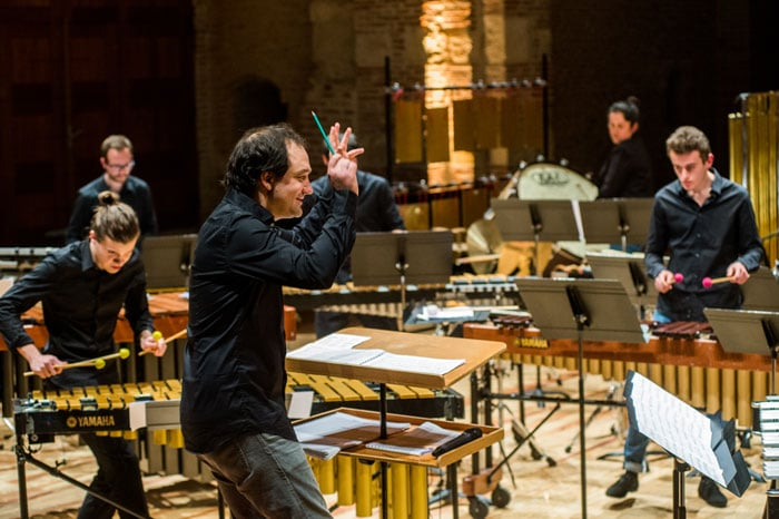 Concert La Percu'Ose, février 2019 © Franck Alix