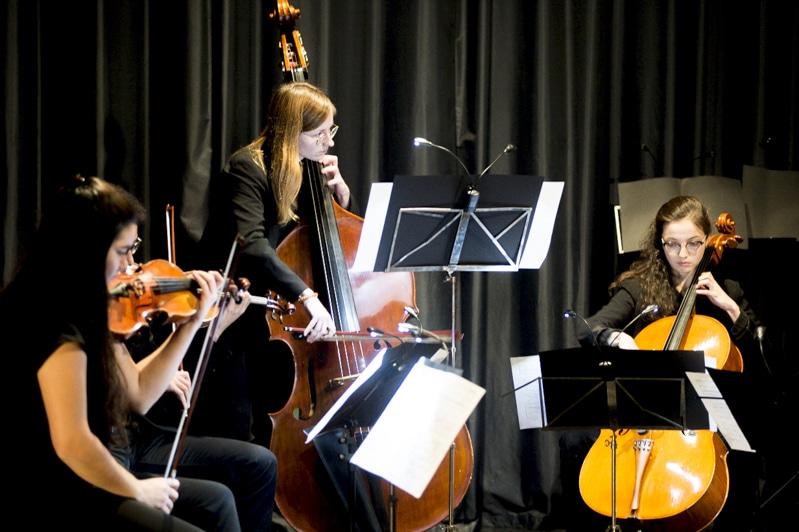 Concert Variations contemporaines — l'isdaT invite le quatuor Béla aux Abattoirs, Musée — Frac Occitanie Toulouse © Franck Alix, nov. 2019