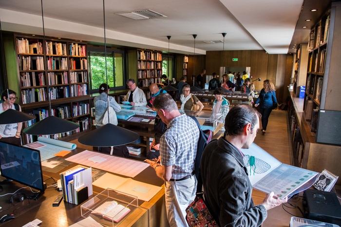Exposition LabBooks — éd. 2018 à la Médiathèque des Abattoirs, photographie © Franck Alix