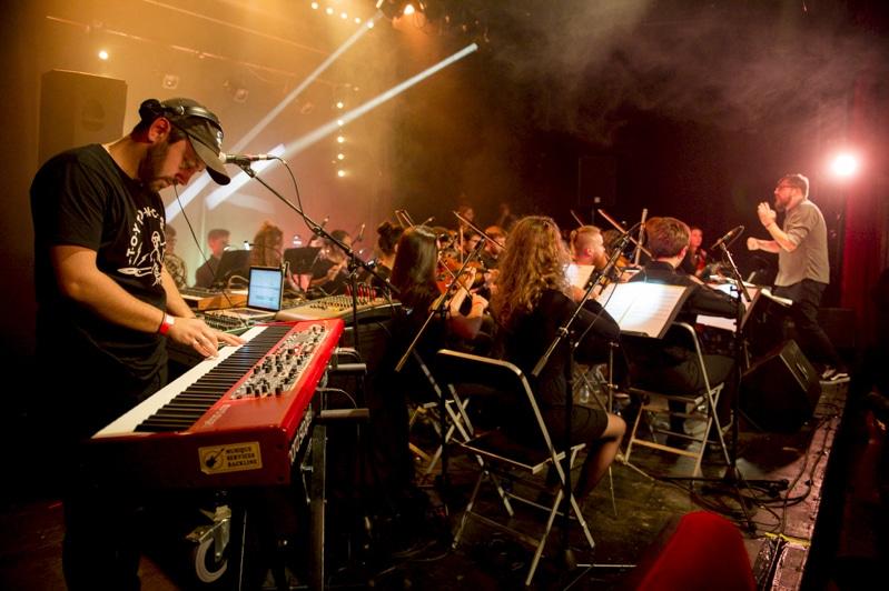 Concert <i>L'isdaT invite Mangabey</i> au Rex de Toulouse © Franck Alix, nov. 2019