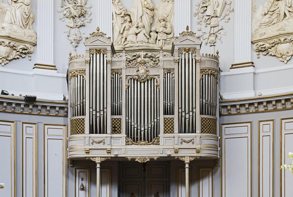 Orgue de chœur, Église Saint-Jérôme, Toulouse©Didier Descouens