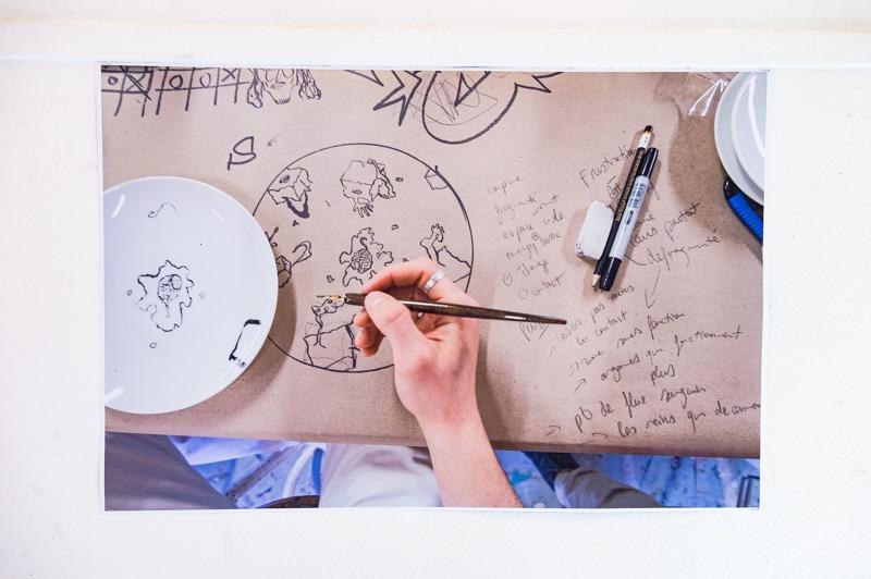 Workshop Design et convivialité avec Guillaume Barbareau © Franck Alix, mars 2021